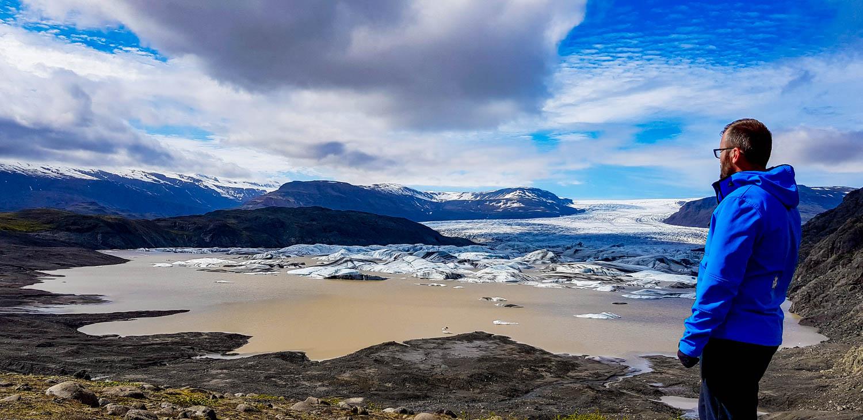 Hoffellsjökull Islanda Glacier