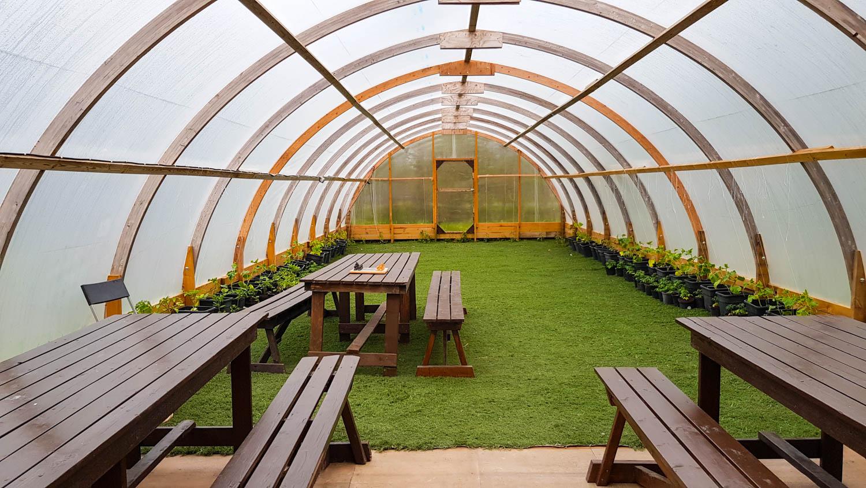 Reykjavik Camping Greenhouse