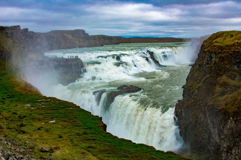 Gullfoss waterfall Islanda Golden Cirlce