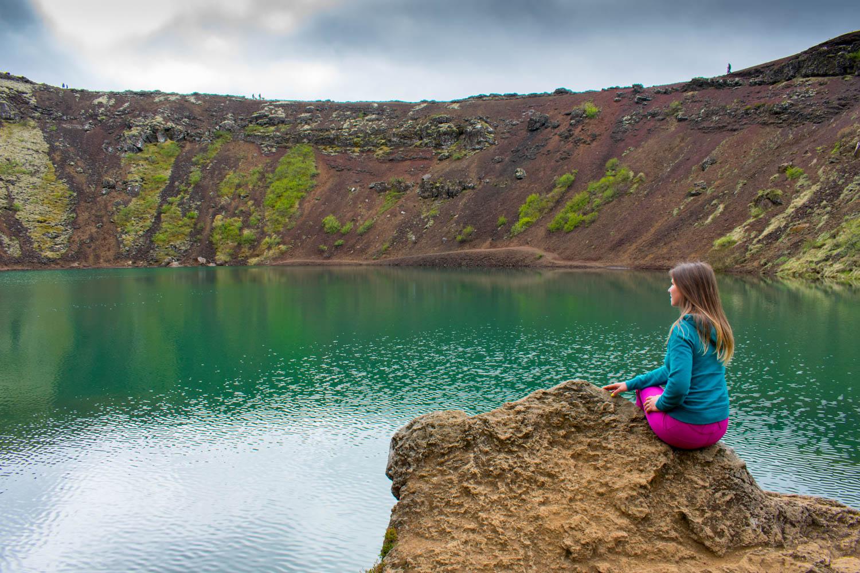 Kerid Crater Lake Islanda