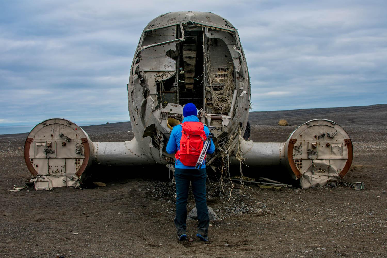 DC3 plane wreck Islanda
