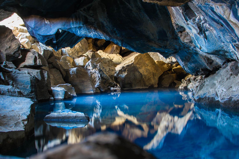 Grjótagjá Cave Islanda Jon Snow Cave