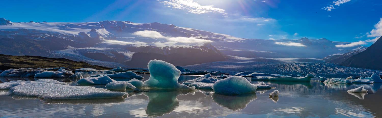 Jökulsárlón Glacier Lagoon Islanda
