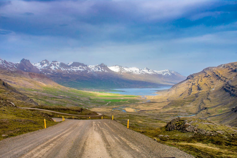 Islanda Roads Beautiful View