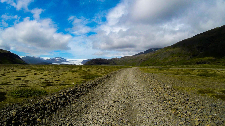 Hoffellsjökull Islanda Glacier road