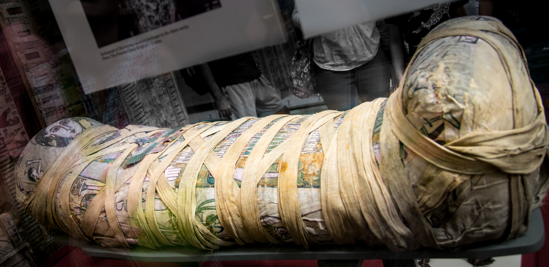 Cleopatra Mummy British Museum Londra