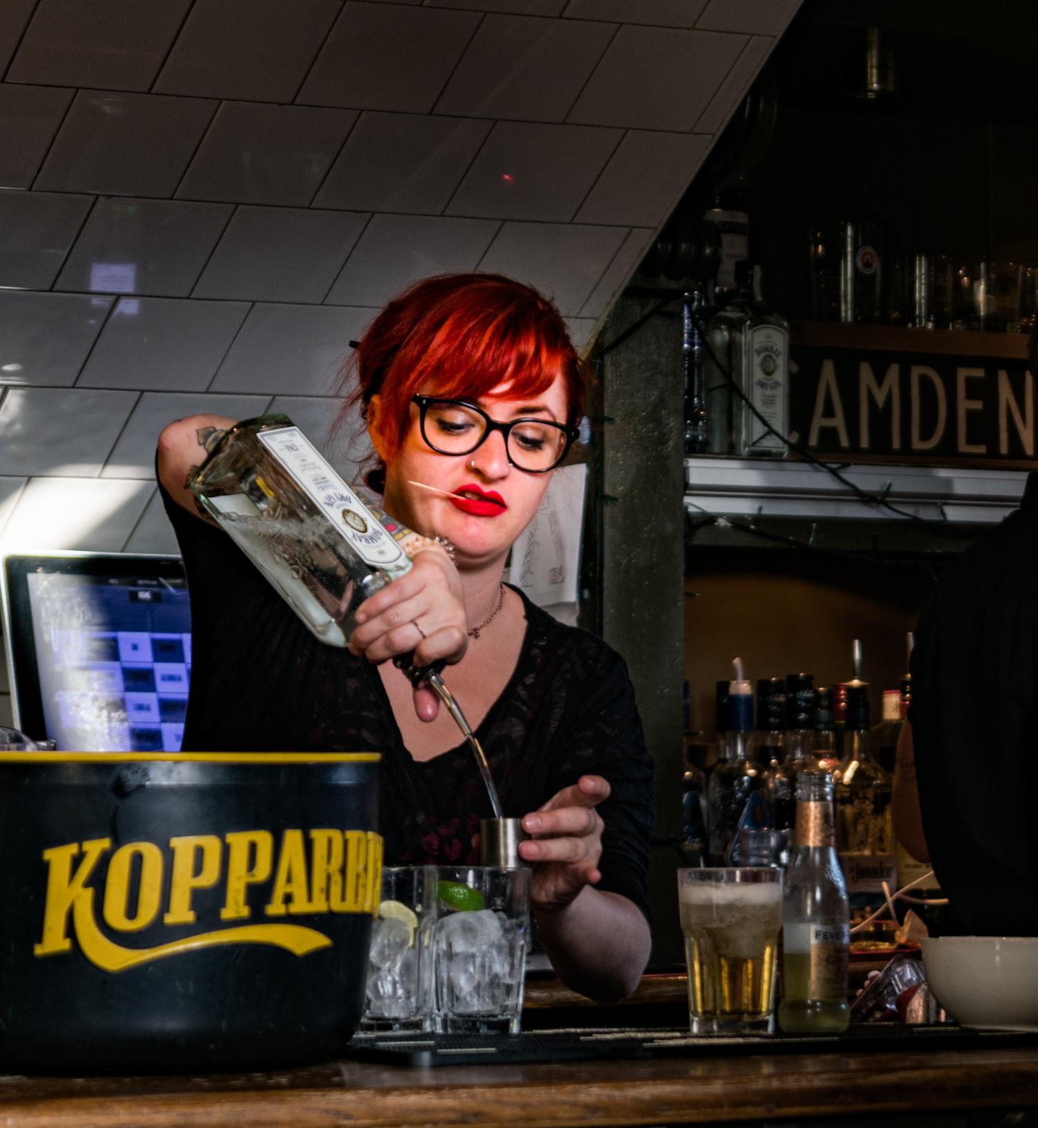 Camden Town Waitress Londra