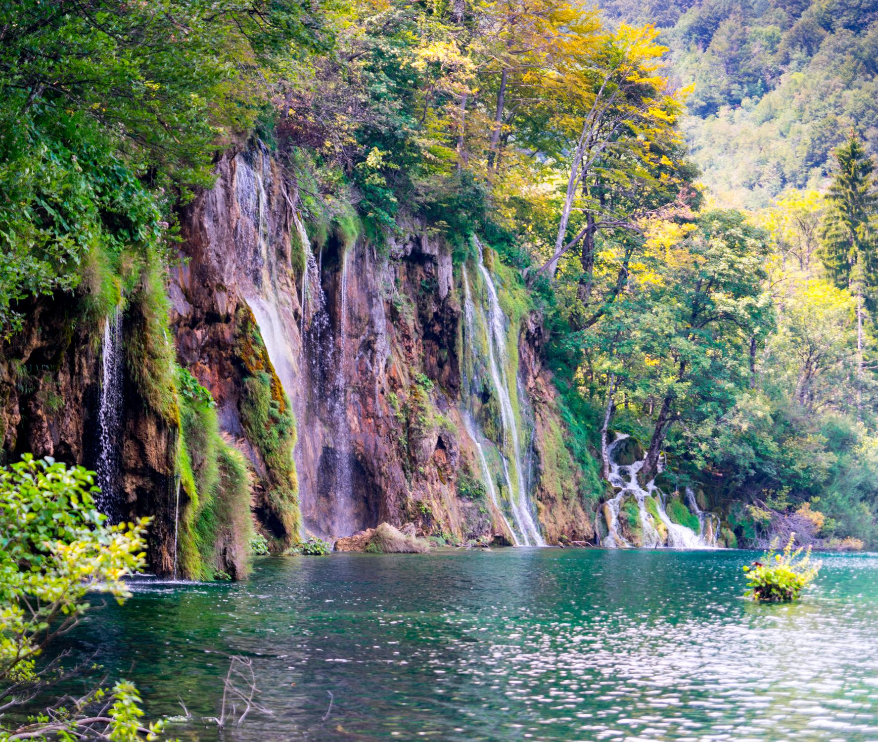 Plitvice Croatia Waterfall