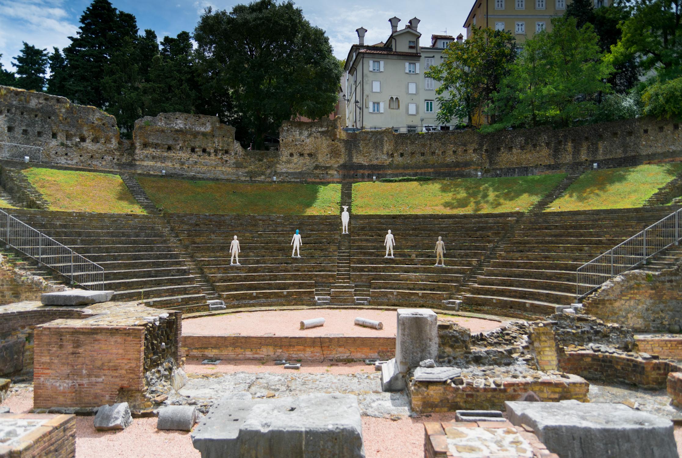 Trieste Italy Amphitheatre