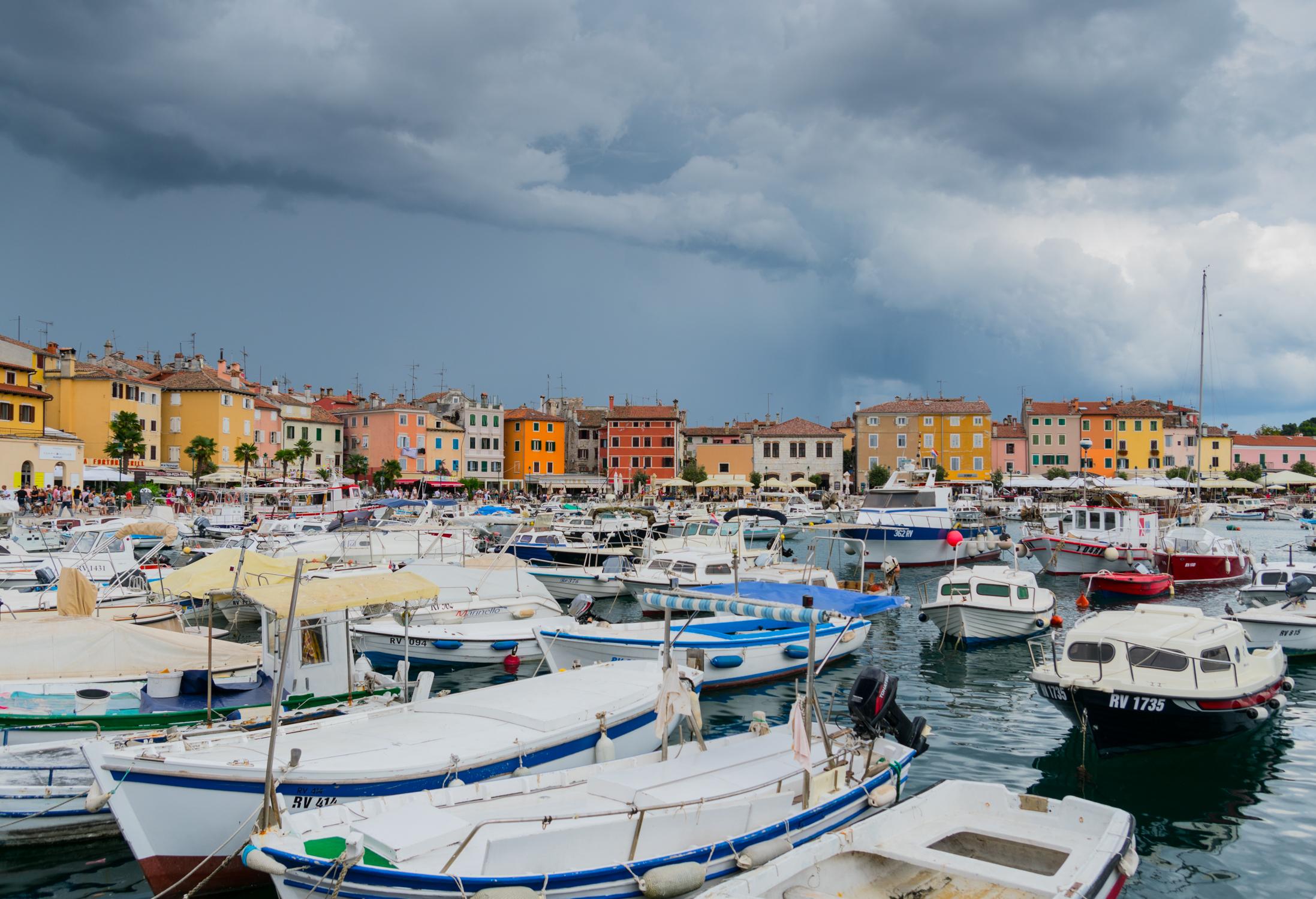 Croatia Istria Porec Italian City