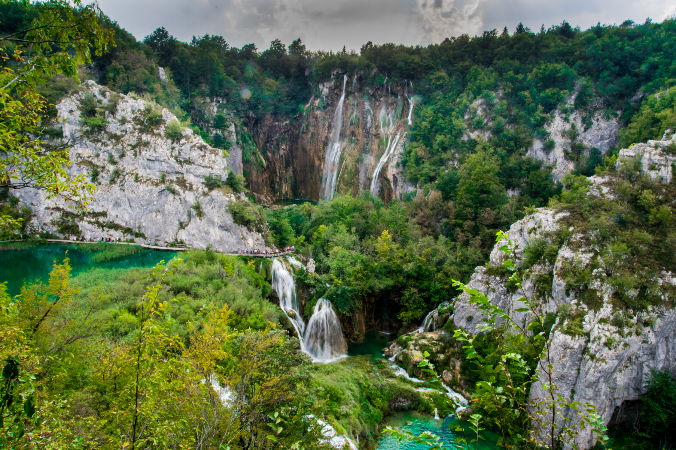Plitvice Croatia Waterfall