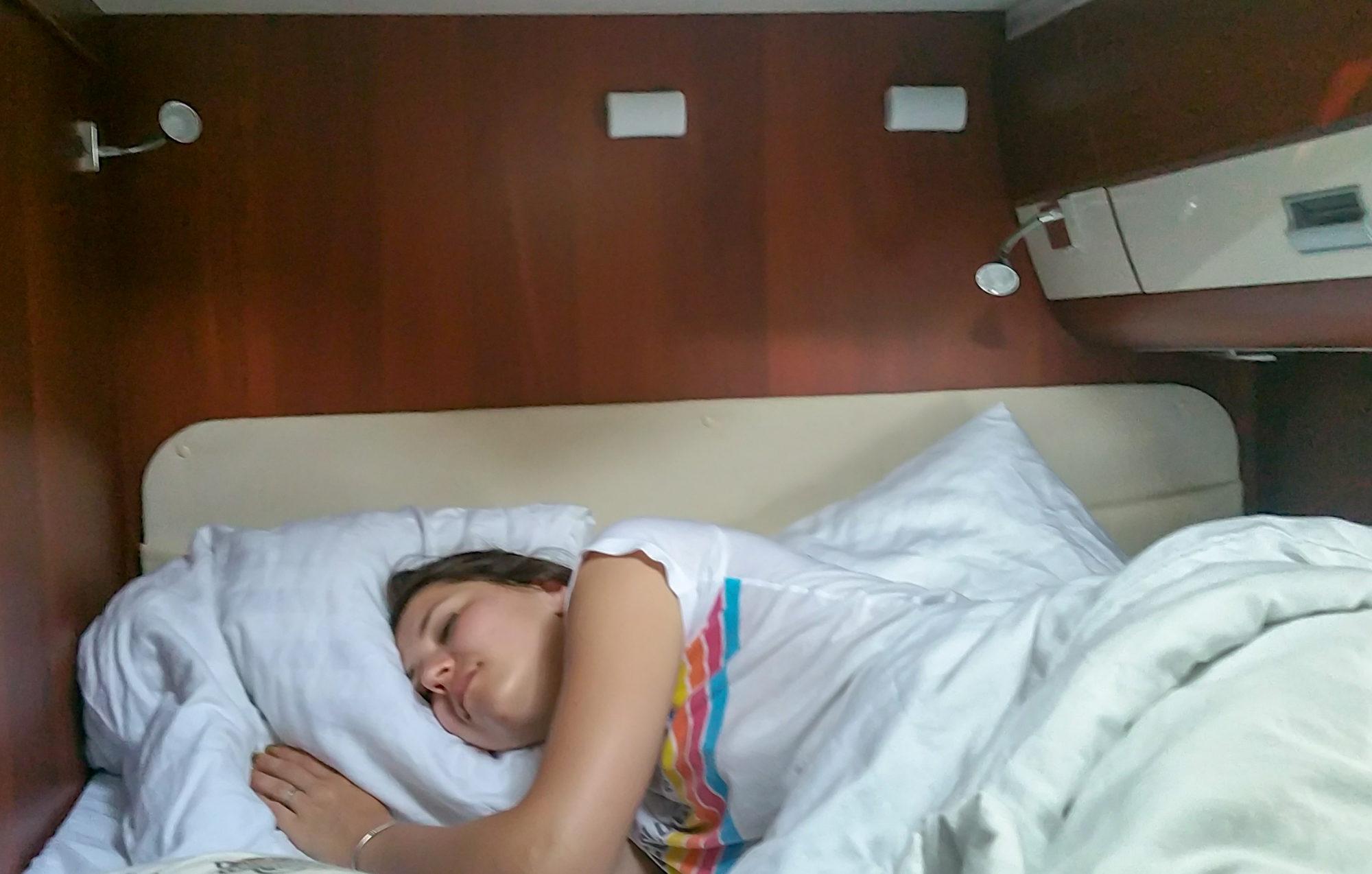 sleep caravan
