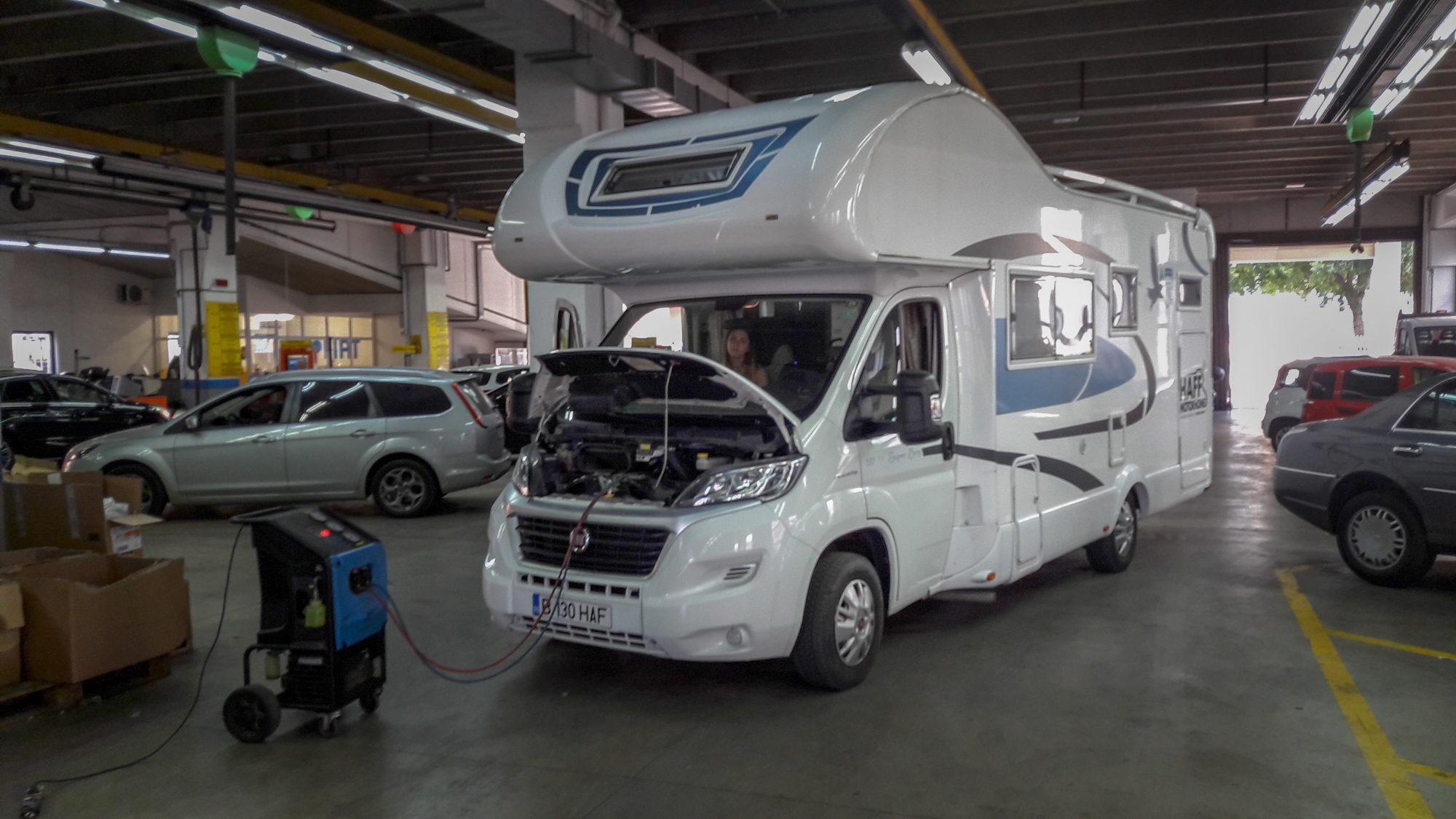 caravan service italy