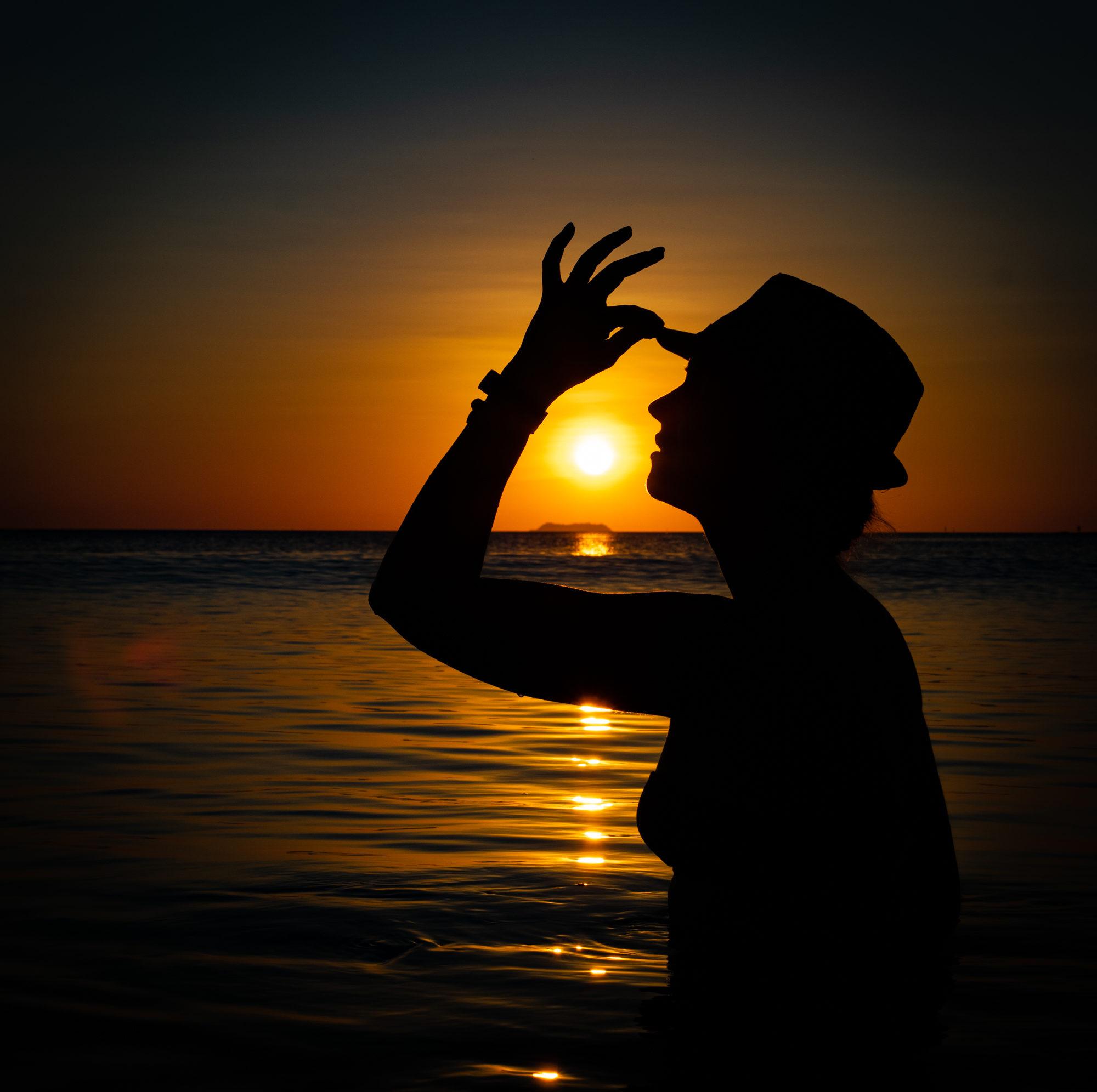 thailand koh lanta sunset