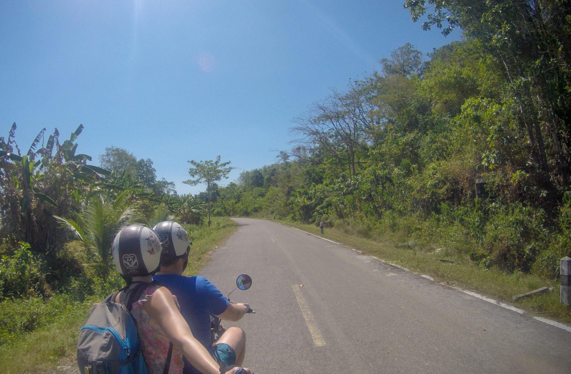 thailand koh lanta scooter