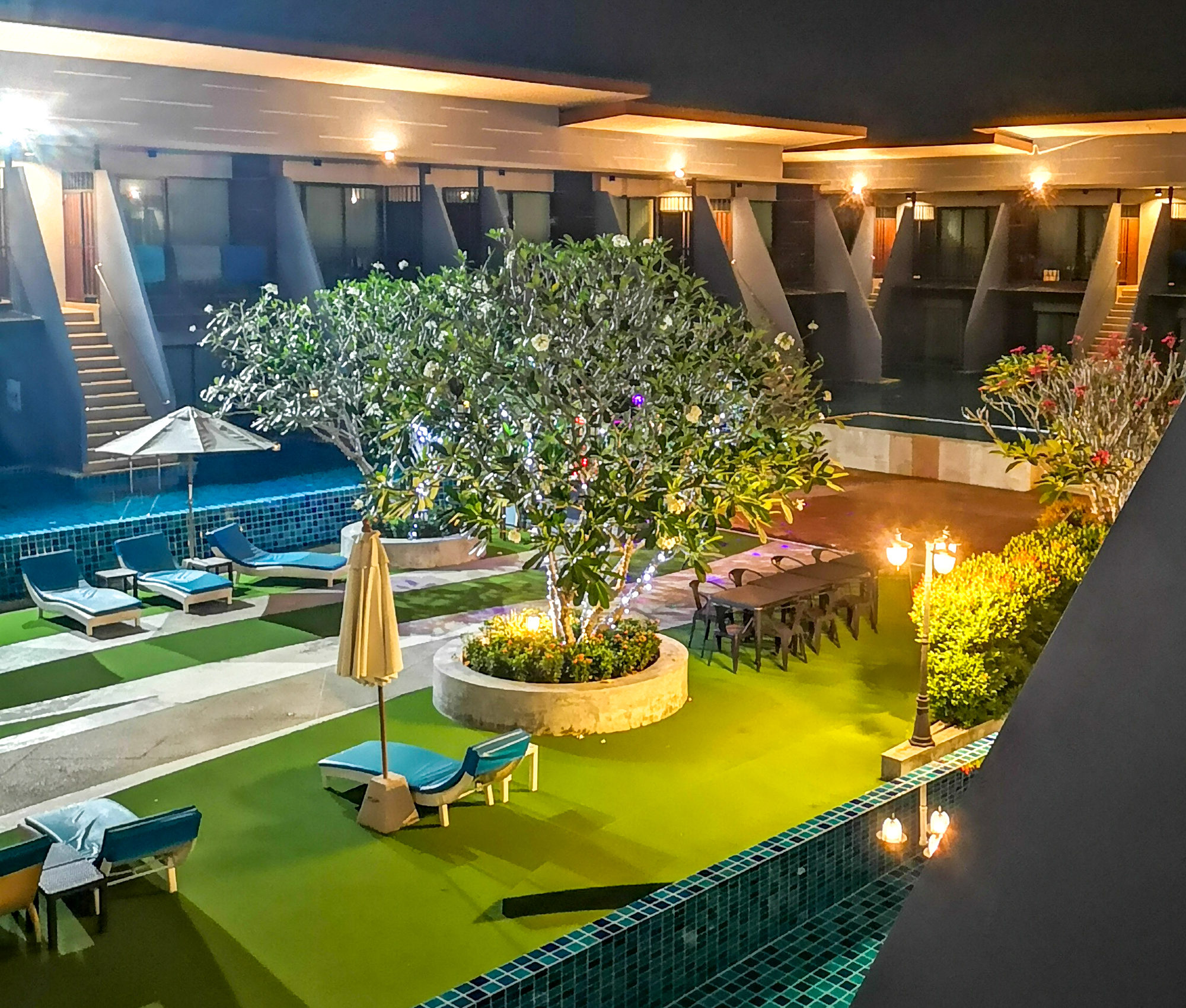 thailand ao nang hotel pool