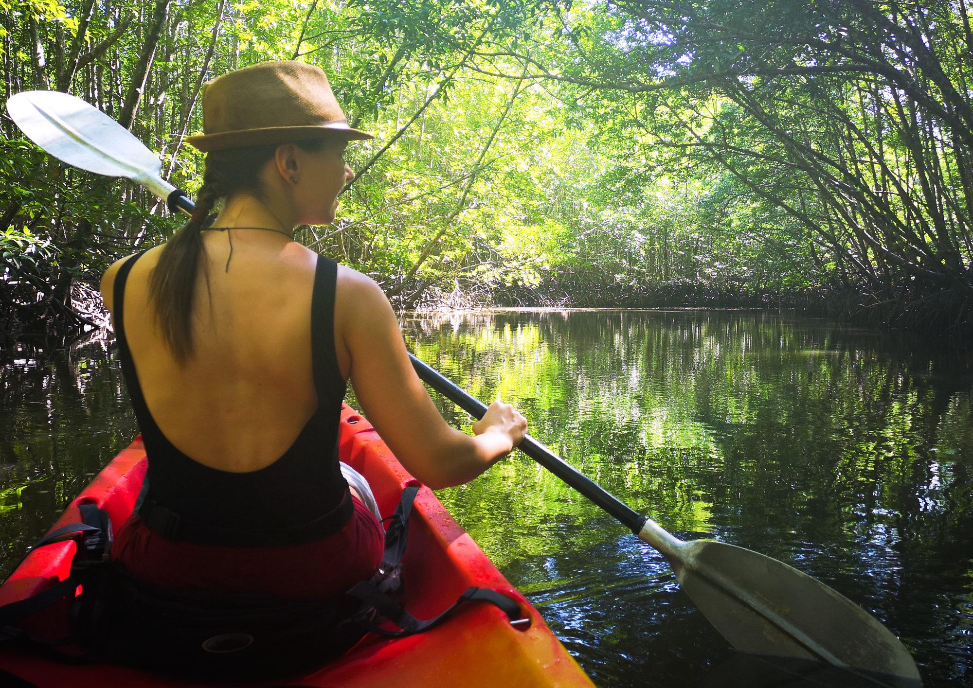 thailand krabi ao thanale kayaking