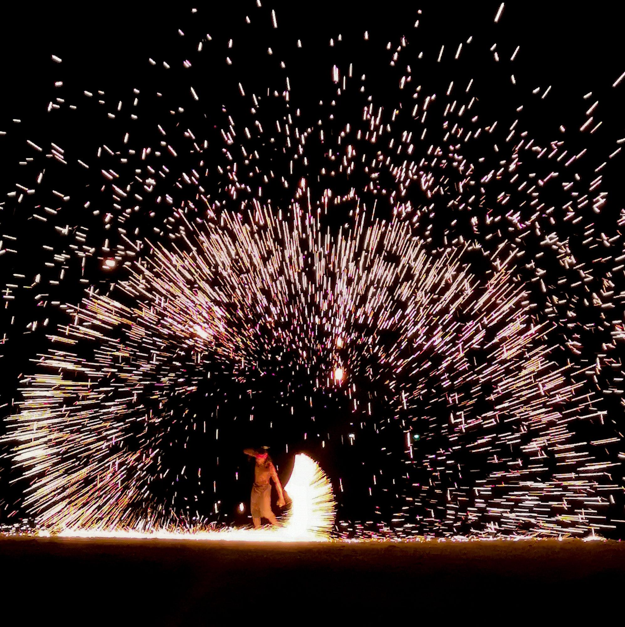 koh lanta fire show
