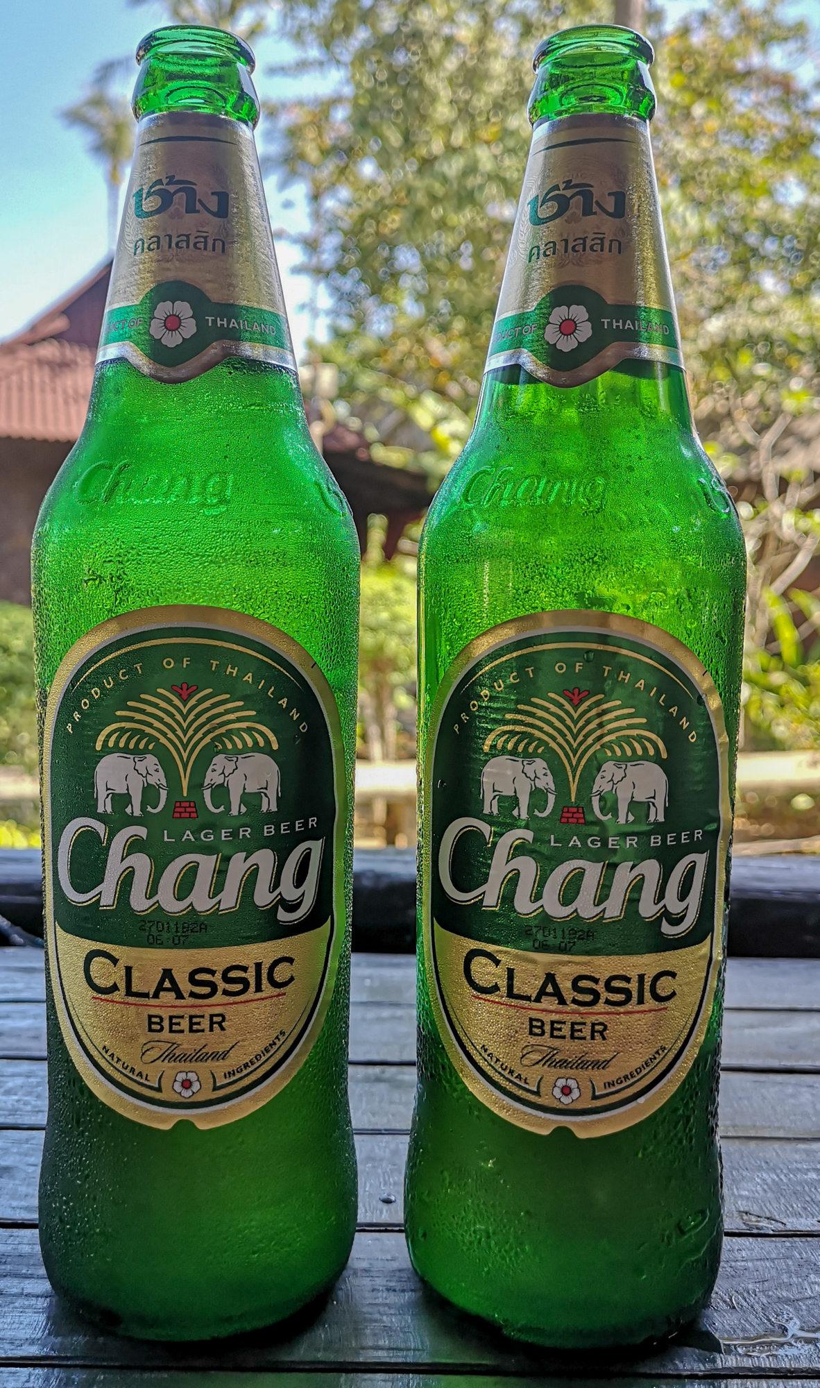 thailand koh lanta chang beer