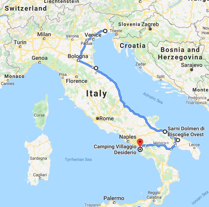 italia traseu amalfi